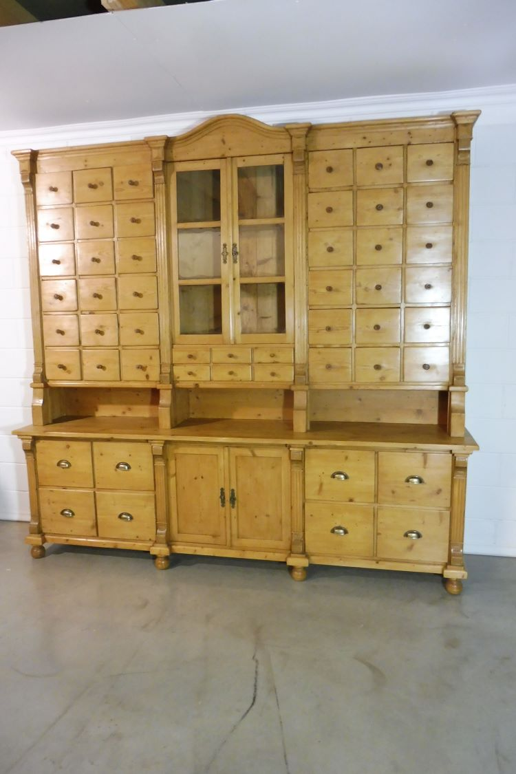 Antique Buffet Cabinet Golden Clics
