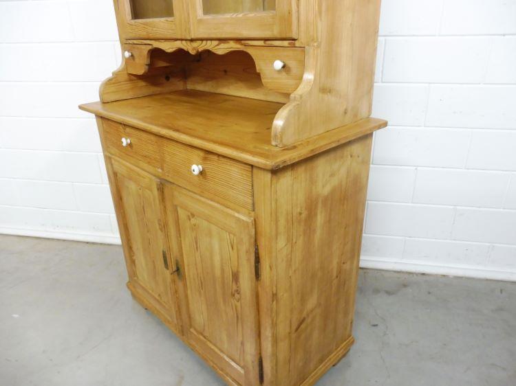 Antique Buffet Cabinet Golden Classics, Buffet Hutch Furniture